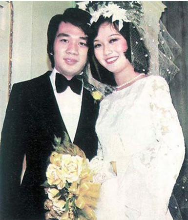 赵雅芝70年代的婚纱照