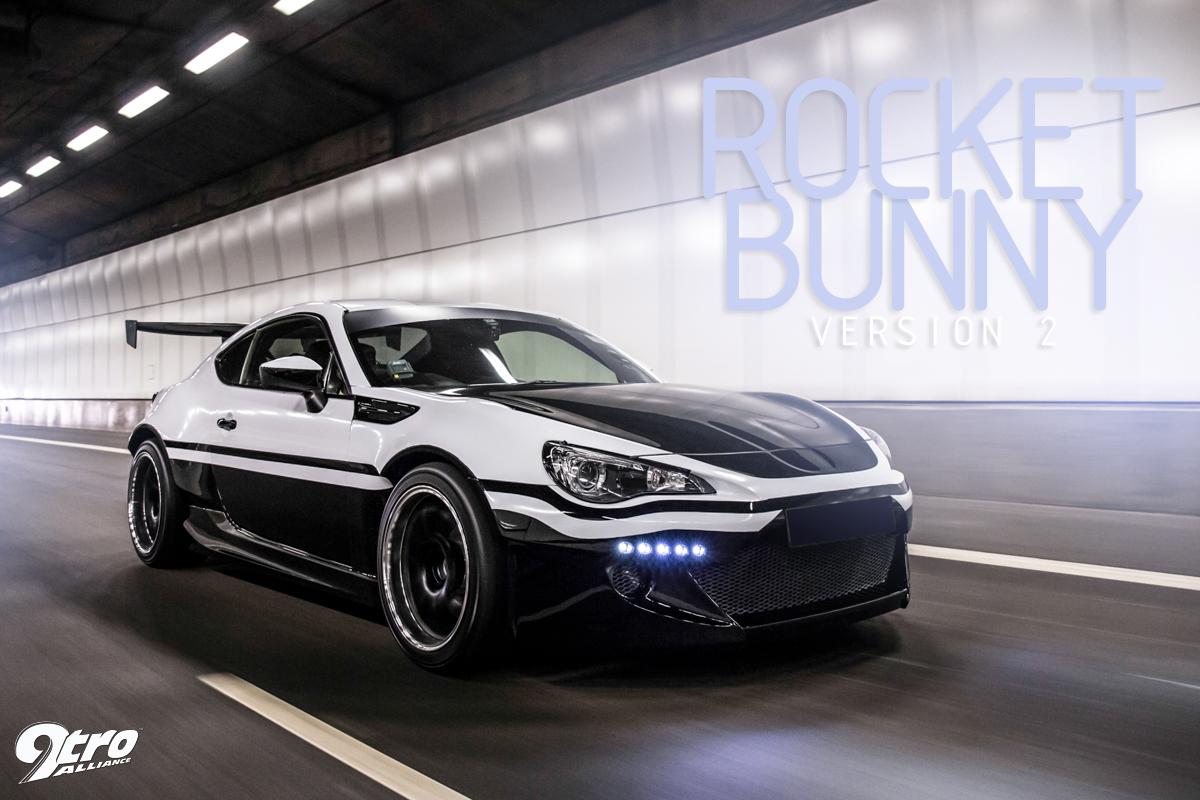 "经典""豆腐车""涂装重现:Subaru BRZ - Rocket Bunny V2"